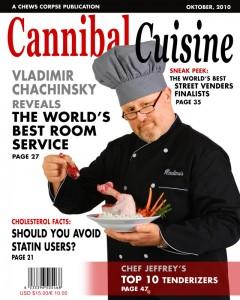 Cannibal Cuisine…A Room Service Prop