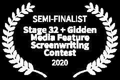 SEMI-FINALIST-Stage-32-Gidden-Media-Feature-Screenwriting-Contest-2020