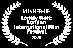 RUNNER-UP-Lonely-Wolf-London-International-Film-Festival-2020
