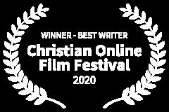 WINNER-BEST-WRITER-Christian-Online-Film-Festival-2020