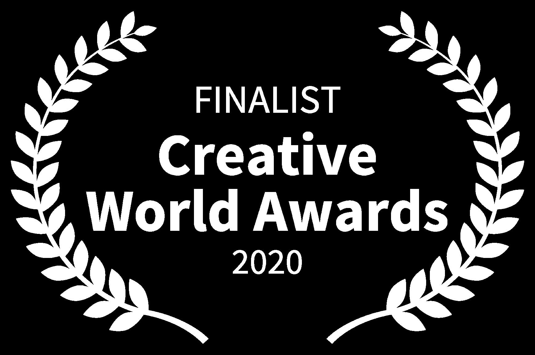 FINALIST - Creative World Awards - 2020