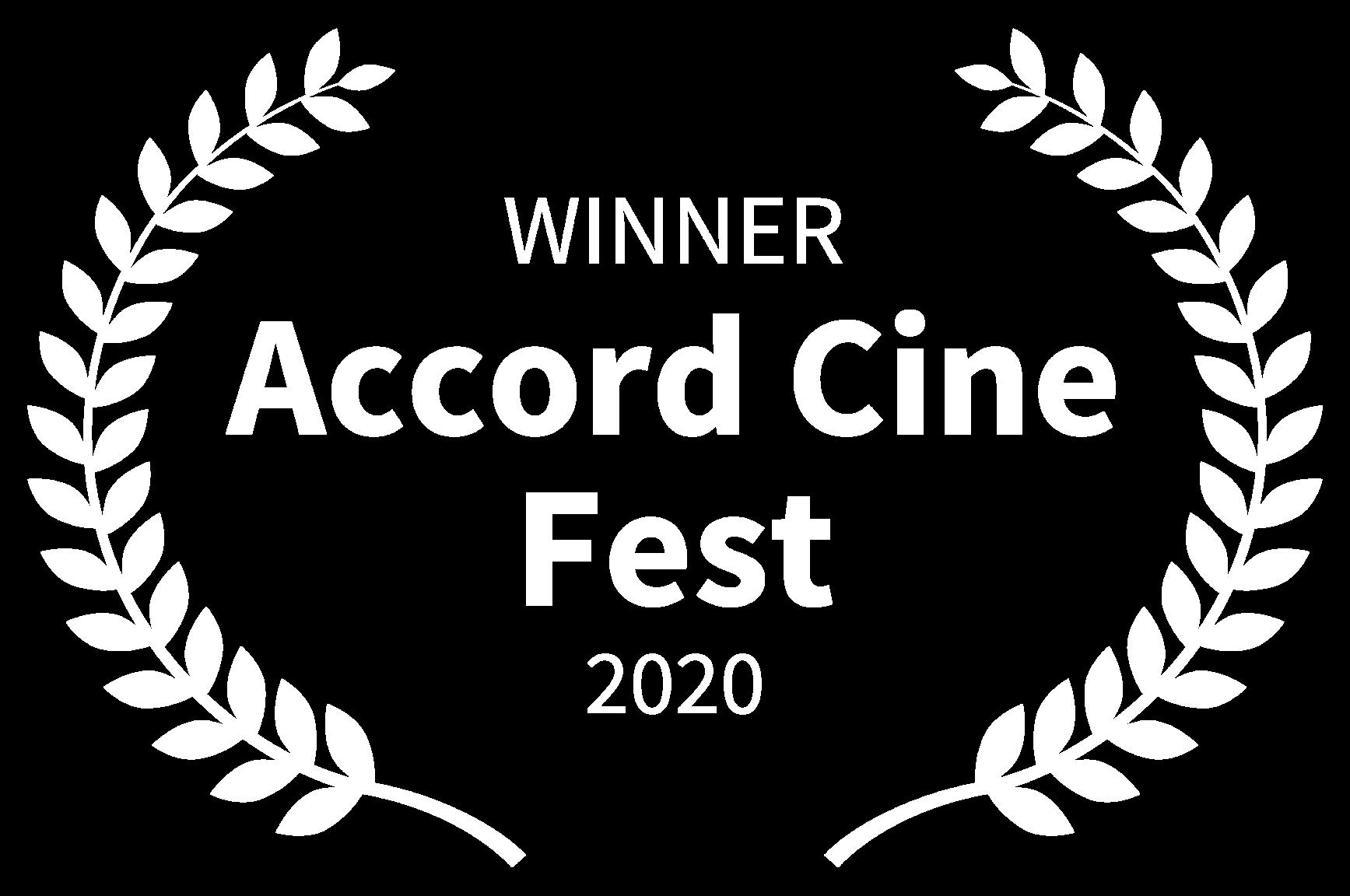 WINNER - Accord Cine Fest - 2020