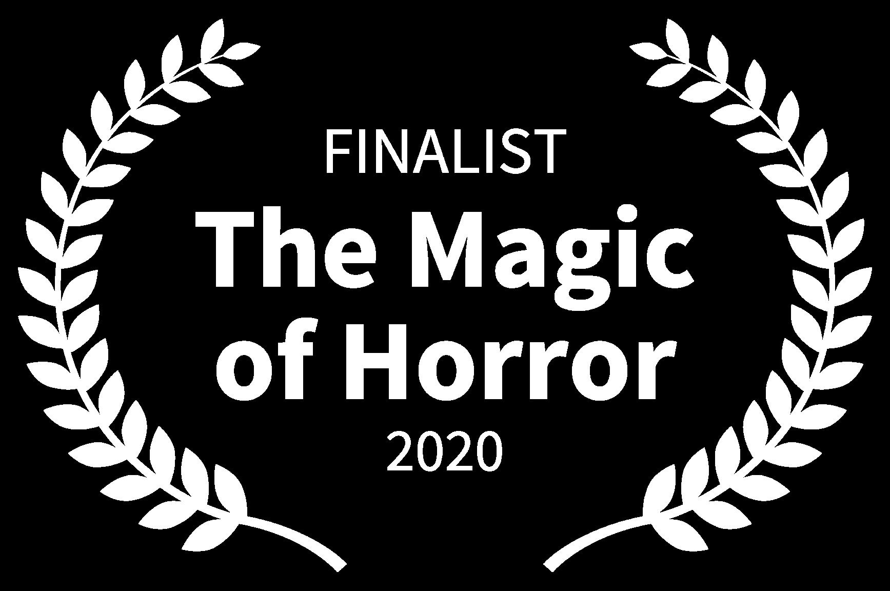 FINALIST - The Magic of Horror - 2020