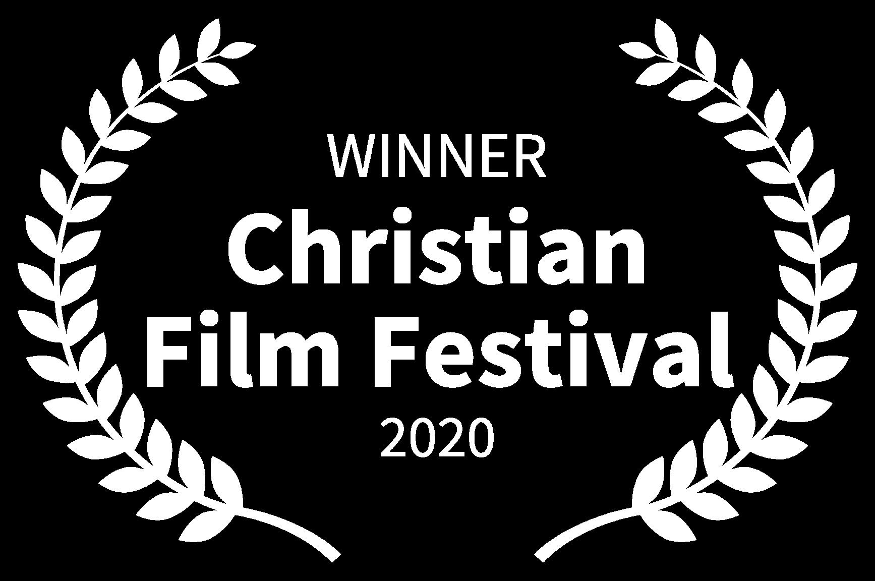 WINNER - Christian Film Festival - 2020 (1)
