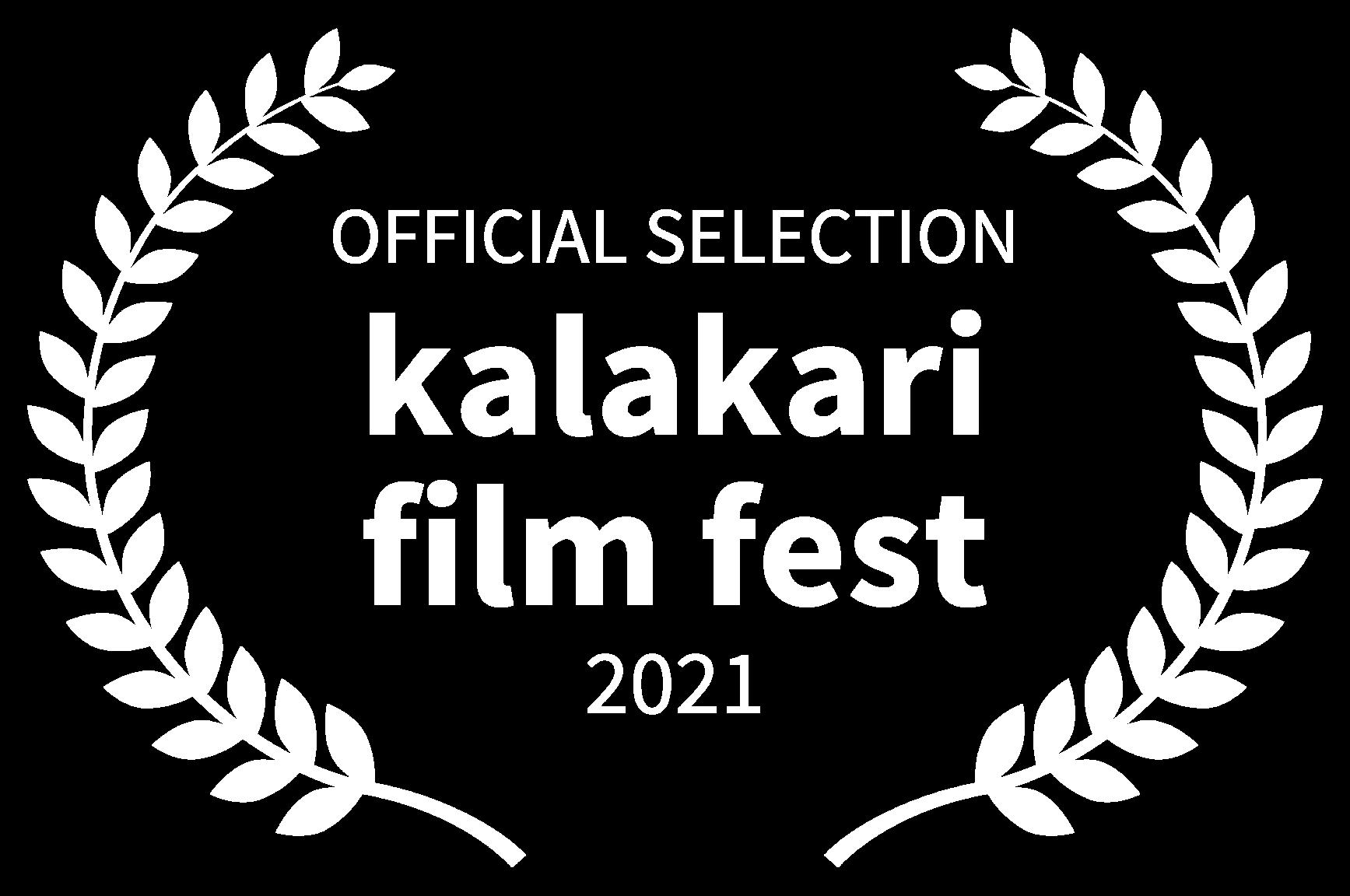 OFFICIAL SELECTION - kalakari film fest - 2021 (1)-1